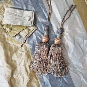 Gorgeous designer custom drapes